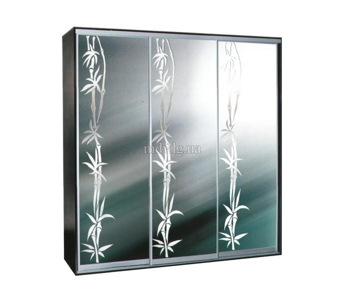 Декор зеркал на шкафы купе