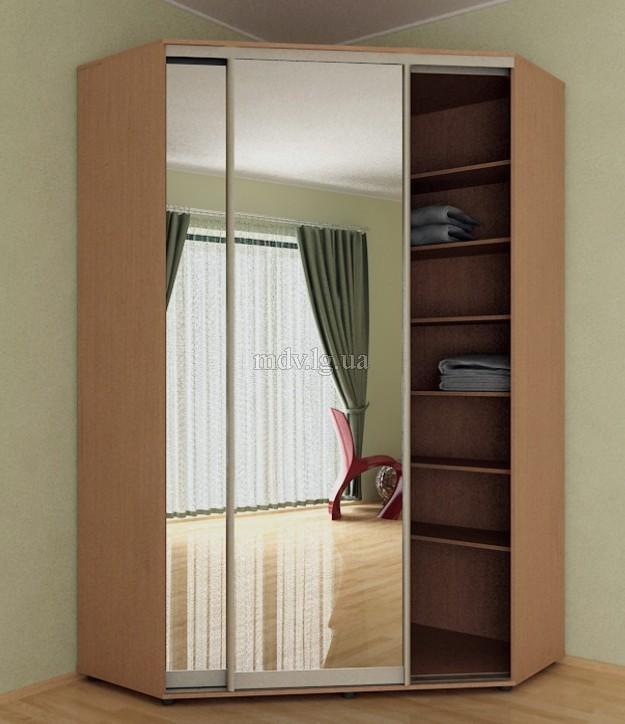 Шкаф из гипсокартона с дверями