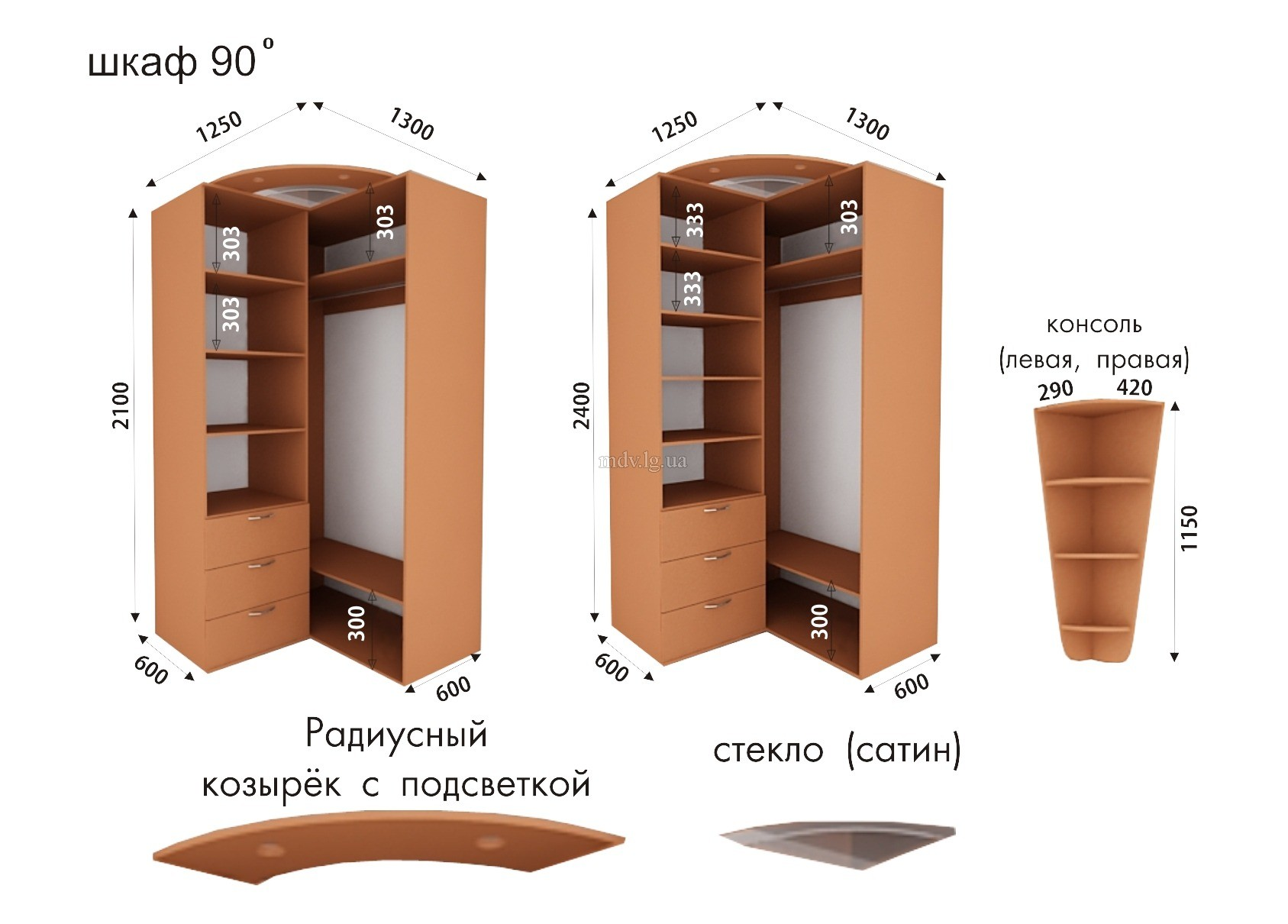 Схема углового шкафа купе фото 125